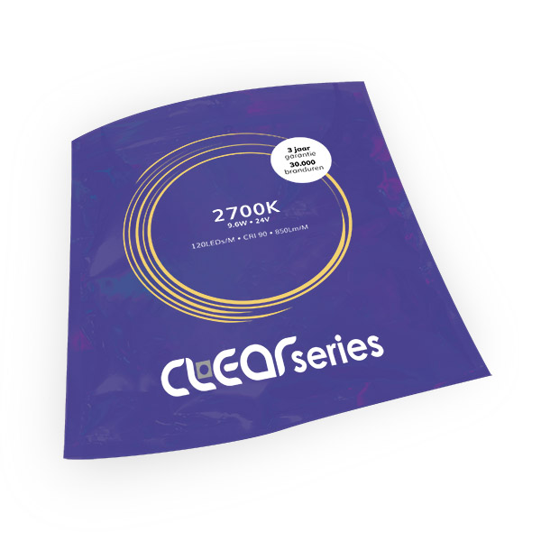 LEDstrip ClearSeries Extra Warmwit